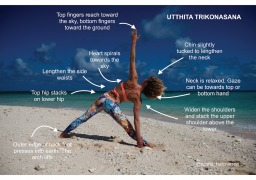 Triangle Pose: Utthita Trikonasana