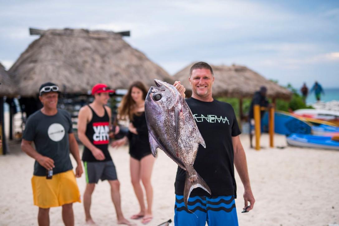 trevor hendy ironman fish pomfrey namotu island kite week ben wilson